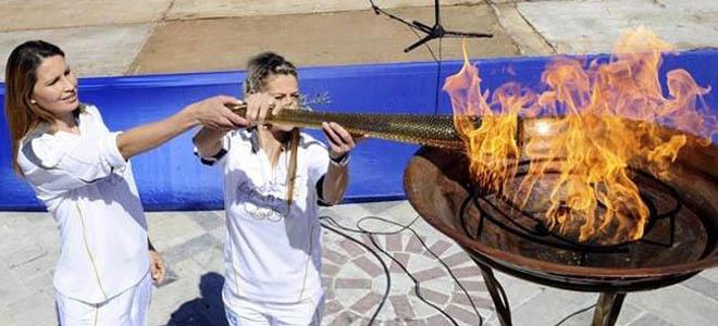 Στη Λάρισα η Ολυμπιακή Φλόγα