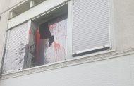 Εικόνες και video από την επίθεση στο Δικαστικό Μέγαρο Λάρισας