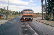 «Λίφτινγκ» σε δρόμους της Λάρισας – Ασφαλτικά έργα 500.000 ευρώ