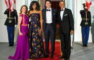 «Κολλητές» Μισέλ Ομπάμα και Σοφί Τριντό – Πήγαν μαζί για ψώνια και φαγητό [εικόνες]