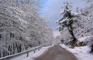Xιόνια στα ορεινά της Θεσσαλίας
