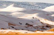 Xιόνι στην Έρημο Σαχάρα για τρίτη φορά μετά από 40 χρόνια!