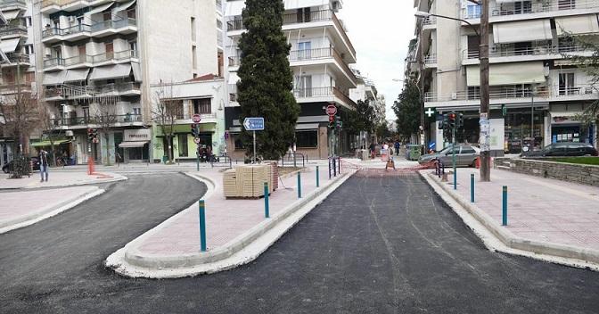 Λάρισα: Ολοκληρώνεται η ασφαλτόστρωση στην οδό Ηπείρου