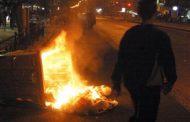 Λάρισα: Φωτιά ξέσπασε σε κάδο απορριμμάτων το πρωί της Τρίτης