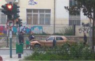 Λάρισα: Τροχαίο ατύχημα σε κεντρικό σημείο από άγνωστη αιτία