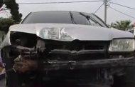 Αθήνα: Αυτοκίνητο έπεσε σε στάση λεωφορείου στη Μεταμόρφωση