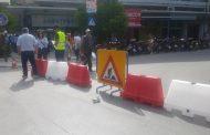 Έκλεισε η οδός Μεγάλου Αλεξάνδρου λόγω εργασιών