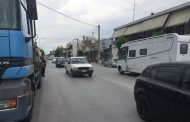 Nέο τροχαίο στην οδό Βόλου: Γυναίκα παρασύρθηκε από νταλίκα
