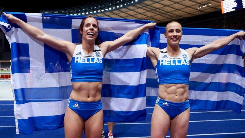 Πρωταθλήτρια Ευρώπης η Στεφανίδη, το ασημένιο η Κυριακοπούλου!