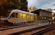 Εκτροχιασμός τρένου μέσα στο σταθμό της Λαμίας!