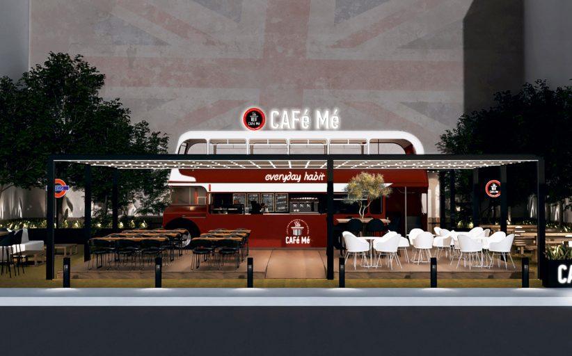 Παρουσιάστηκε το εντυπωσιακό CAFé Mé - Red Bus