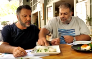 Αρναούτογλου & Σταρόβας έφαγαν στη Λάρισα