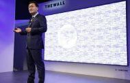 «The Wall»: Η Samsung αποκαλύπτει την οθόνη του μέλλοντος