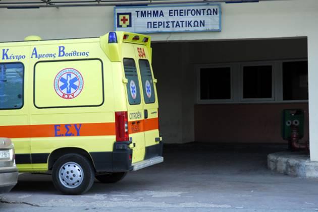 34χρονος μεταφέρθηκε στο ΓΝΛ σε κωματώδη κατάσταση