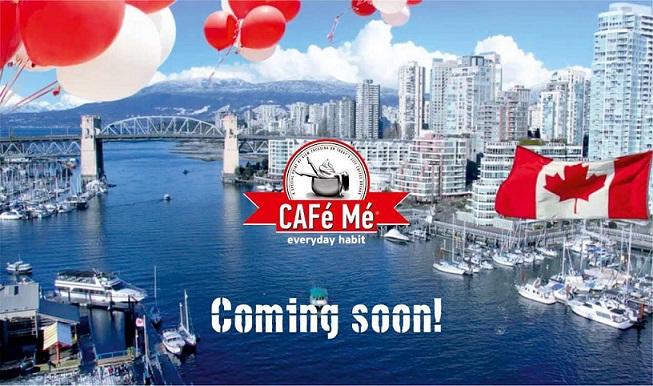 Η Λάρισα είναι παντού! Τα CAFé Mé τώρα και στον Καναδά!