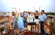 Λαρισαίοι τραγουδούν σε ταράτσα για το καλοκαίρι! (video)